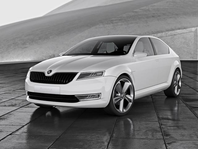 Skoda VisionD Concept 2011 года