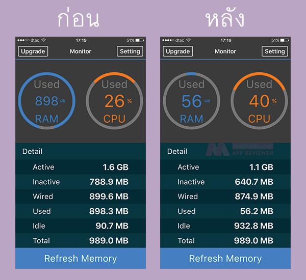 Clear ram iOS