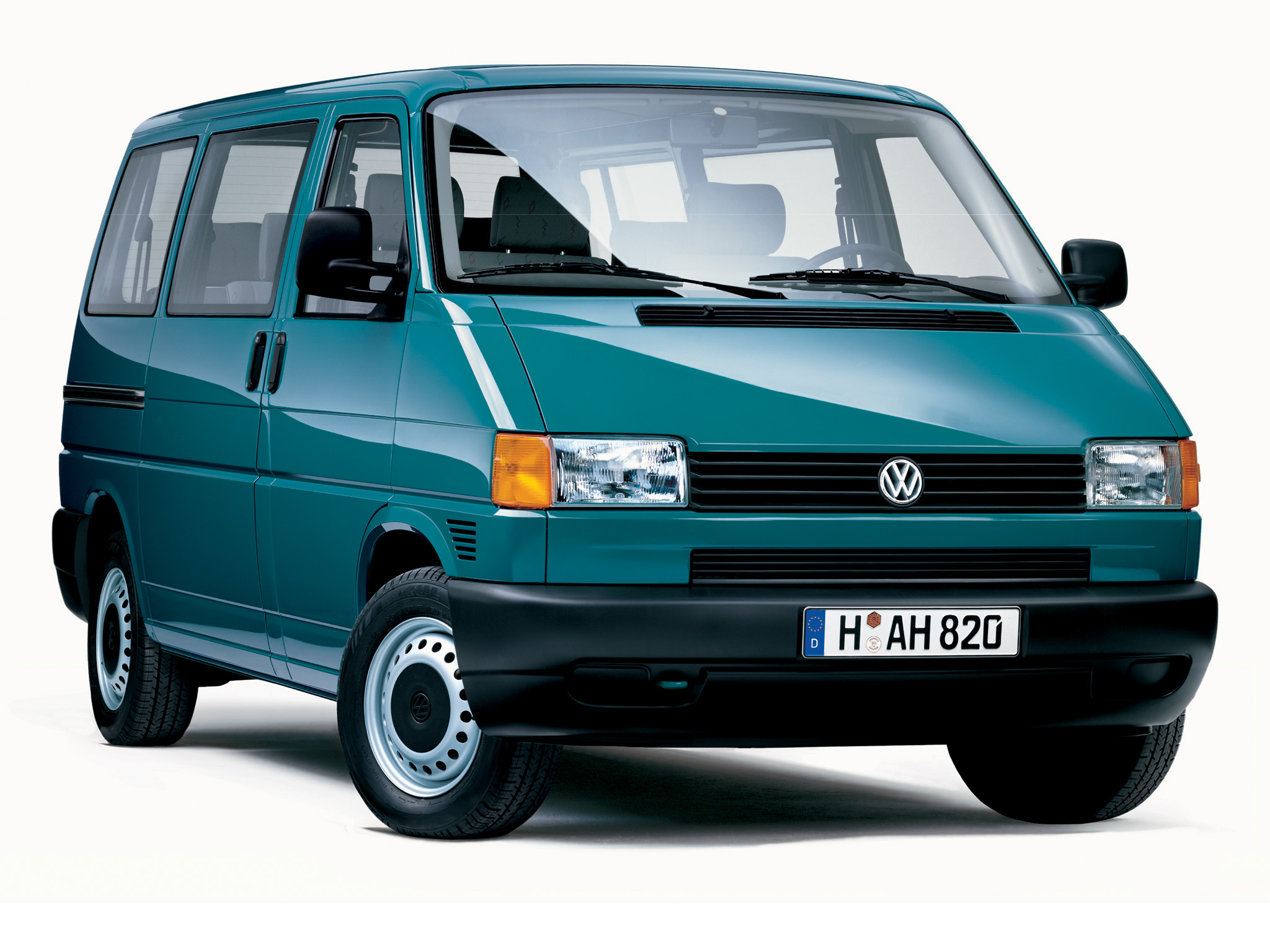 Грузопассажирский Volkswagen T4 Transporter. 1990 - 2003 годы