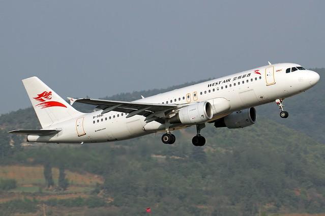 A.320-214 C.n 5740 'B-9981' China West Air