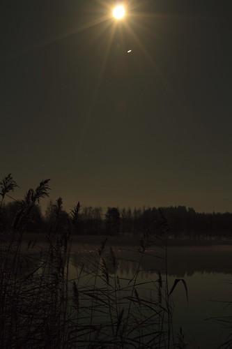 sleeping moon lake reflection beauty clouds suomi finland sleep surface fullmoon silence moonlight pinta yö pilvet laukaa järvi pilvi heijastus kuutamo valkola täysikuu canon7d anttospohja canonef163528iiusmkuu