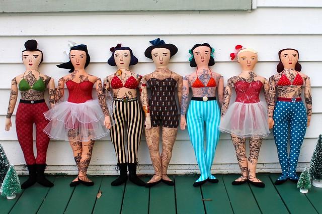 Tattooed sisters