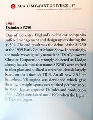 1961 Daimler SP250 Info