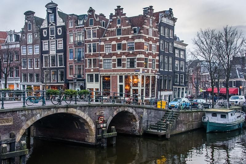 Brouwersgracht-Prinsengracht, Amsterdam, The Netherlands