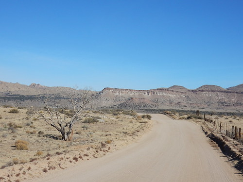 Mojave National Preserve - dirt road