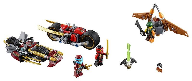 LEGO Ninjago 2016 | 70600 - Ninja Bike Chase