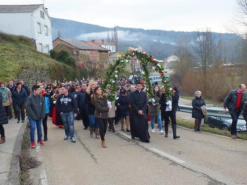 D. Santos recibido a la entrada de Prioro