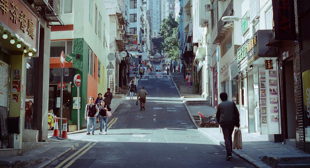 香港漫遊隨拍 KODAK 電影底片 250D