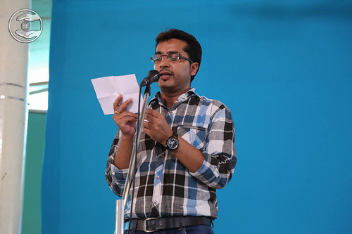Poem by Atul Dhawan, Sant Nirankari Colony, Delhi