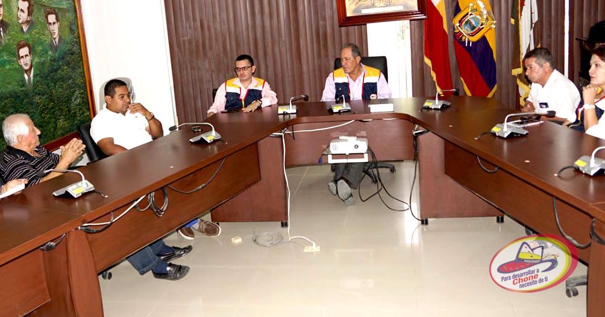 Dirigentes de los barrios se reunieron con el alcalde