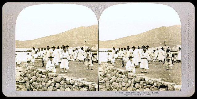A VISIT TO OLD KOREA in 1902, No.1 --  Korea As it Was, Captured in 3-D by HERBERT G. PONTING