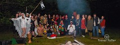 Cast and crew Pagan Christmas Video Shoot