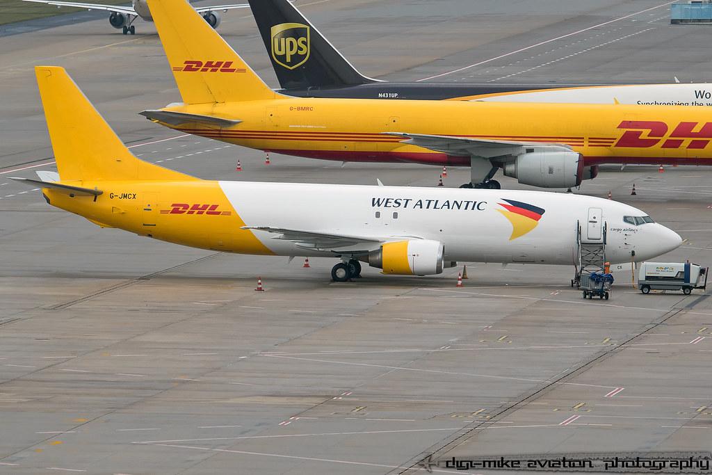 G-JMCX - B734 - European Air Transport