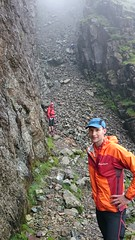 The awesome scramble up Lords Rake Image