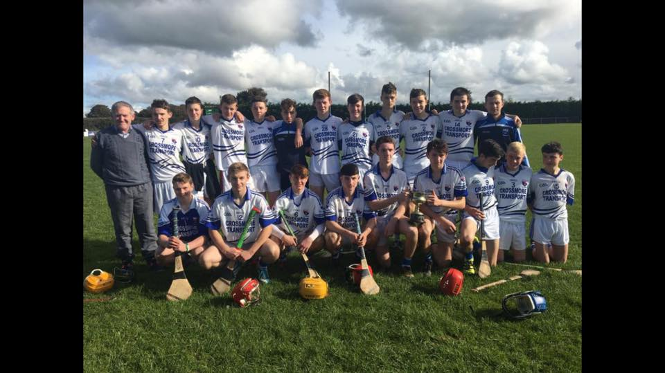 Minor Hurling North Cork League Champions 2016. Defeated Clyda Rovers on a scoreline of 4-09 v 1-09.