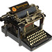 Remington 2  typewriter - 1878, antiquetypewriters.com by antique typewriters