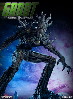 Sideshow Collectibles【星際異攻隊:樹人格魯特】Groot 1/4 比例 全身雕像
