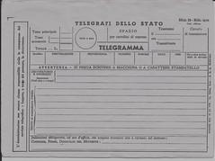 modulo telegramma da