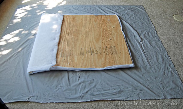 Fabric headboard
