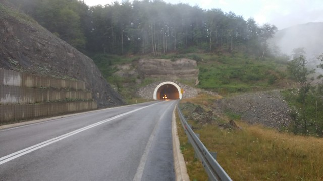 scary tunnels in Bosnia on the 18