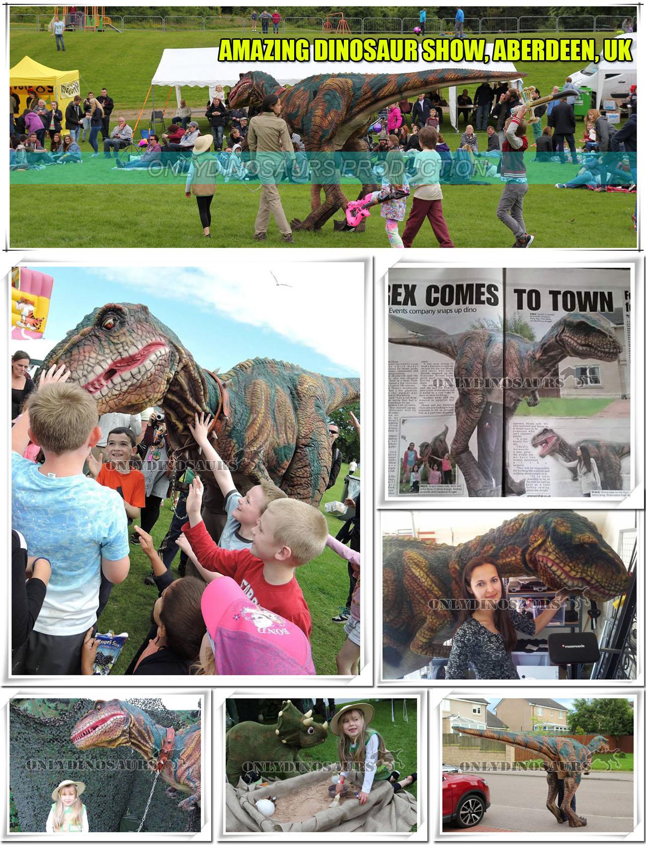 Amazing Dinosaur Show in Aberdeen