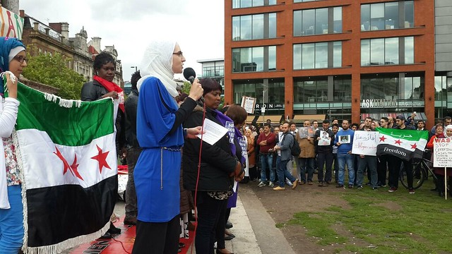 Protest Piccadilly 'All Lives Matter!' 4-9-2015