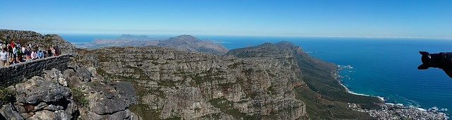 Filming the Table Mountain Panorama