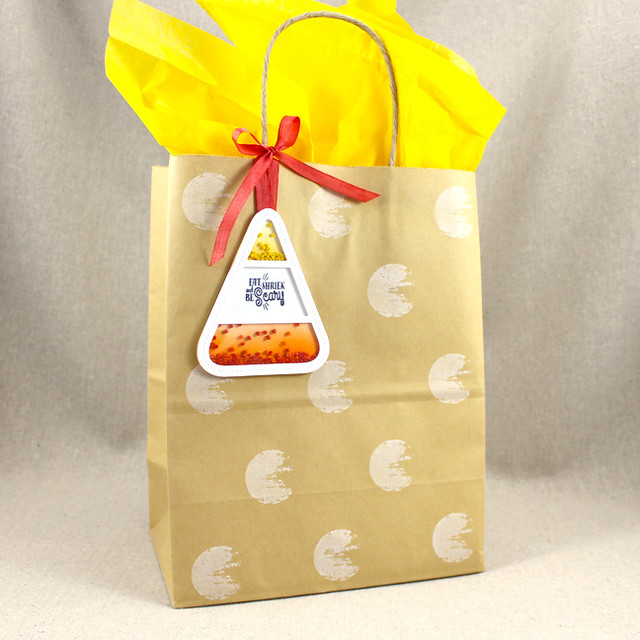 Candy Corn Gift Bag