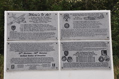 27th - 30th Division and 2 air crash Memorials - Tincourt Somme