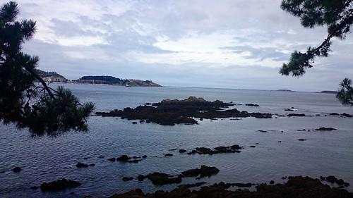 Illa da Garza, desde Monte Lourido