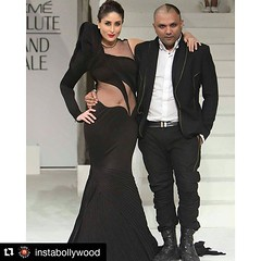 #Repost @instabollywood with @repostapp ・・・ Kareena Kapoor Khan walks the Ramp with Designer Gaurav Gupta at the Grand Finale of Lakme Fashion week 2015. . Rate her look 👉 1.........10 . @INSTABOLLYWOOD @INSTABOLLYWOOD . #instabollywood #bolly