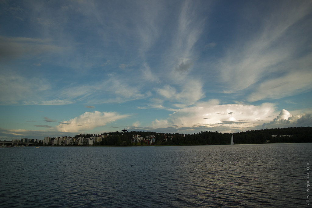 RallyFinland2015-Jyvaskyla-WaterfrontEvening