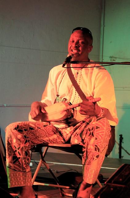 Optreden Malick Pathé Sow & Bao Sissoko @Colorafestival 2015 Leuven
