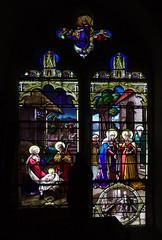 la Nativité, la Visitation, l'Assomption (baie 6)