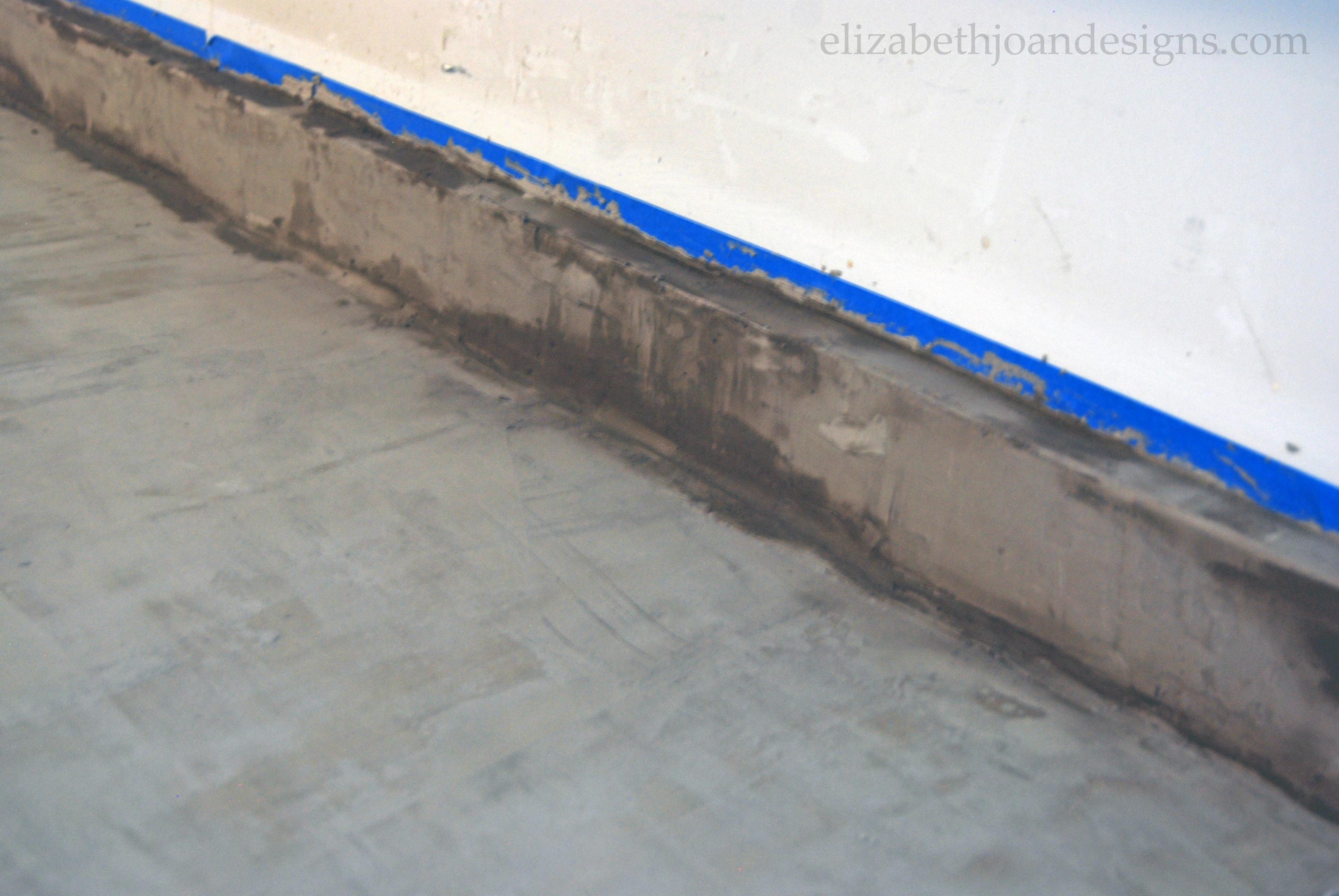 Concrete Counter Tape