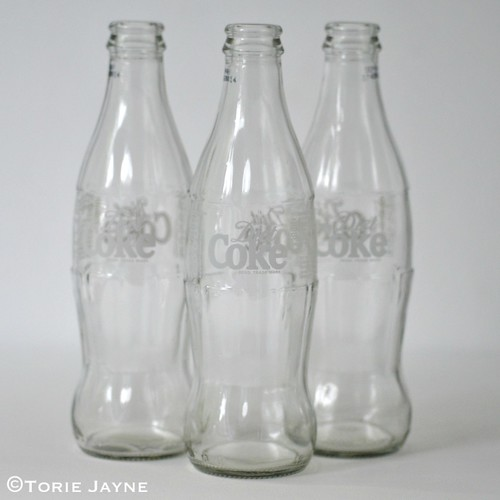 Coco cola bottles