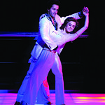 SNF print cmyk Ian Campayno_Emma Martin Photo P. Switzer 2015 - Arvada Center Presenting the Regional Premiere of Saturday Night Fever The Musical  September 15 - October 4, 2015