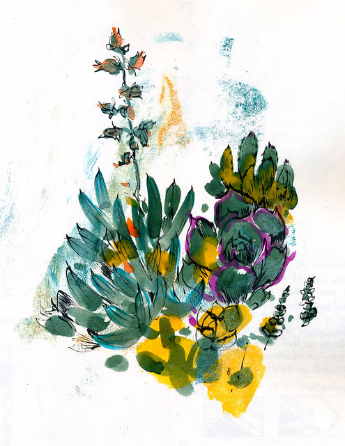 Sketchbook #92: My Succulent Box