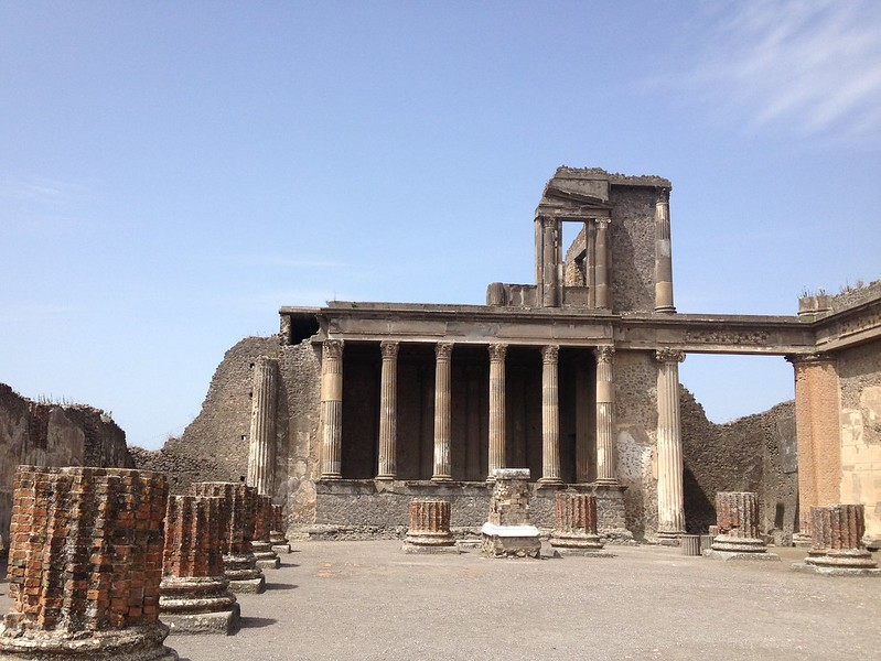 pompei entrance
