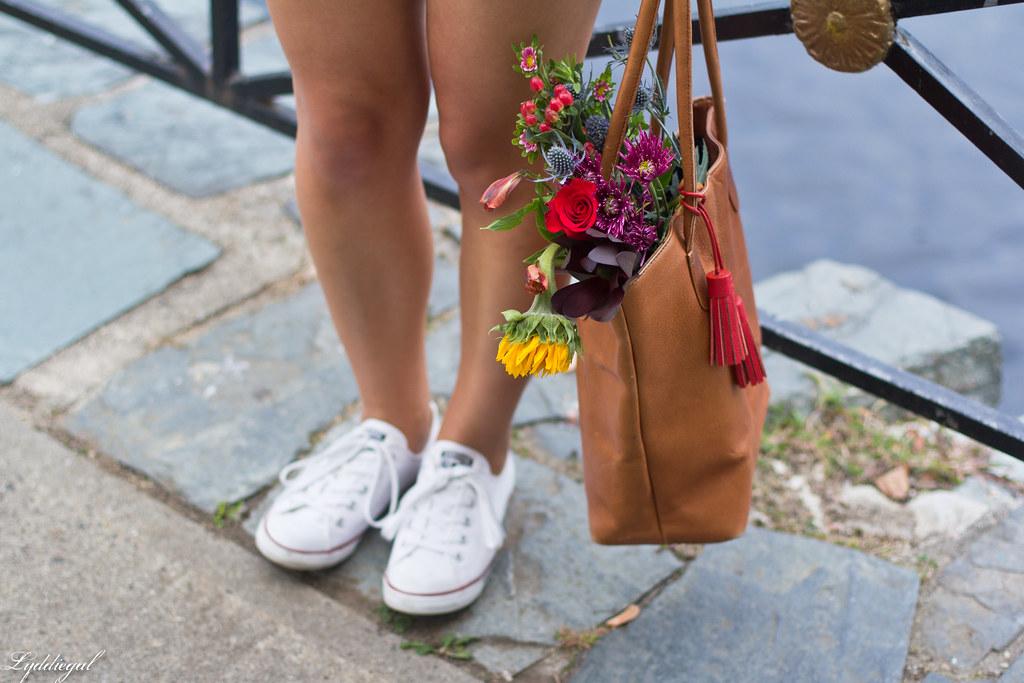 swan print shirt, white shorts, panama hat, converse-4.jpg