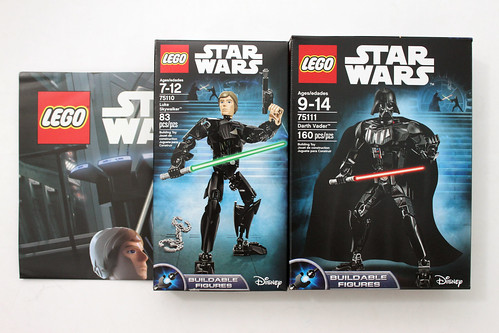 LEGO Star Wars Luke Skywalker & Darth Vader 2-in-1 Battle Pack (66536)