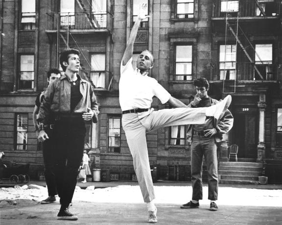 Robbins_rehearsal-west side story