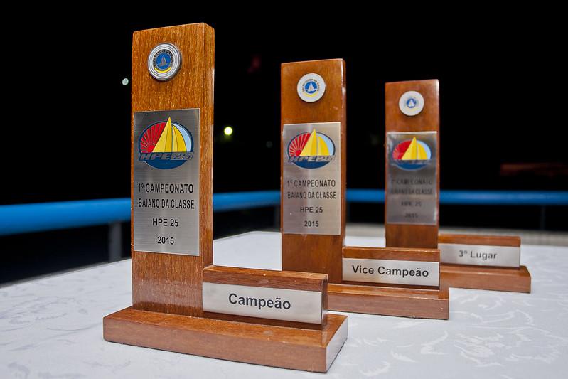 Premiação do I Campeonato Baiano da Classe HPE 25