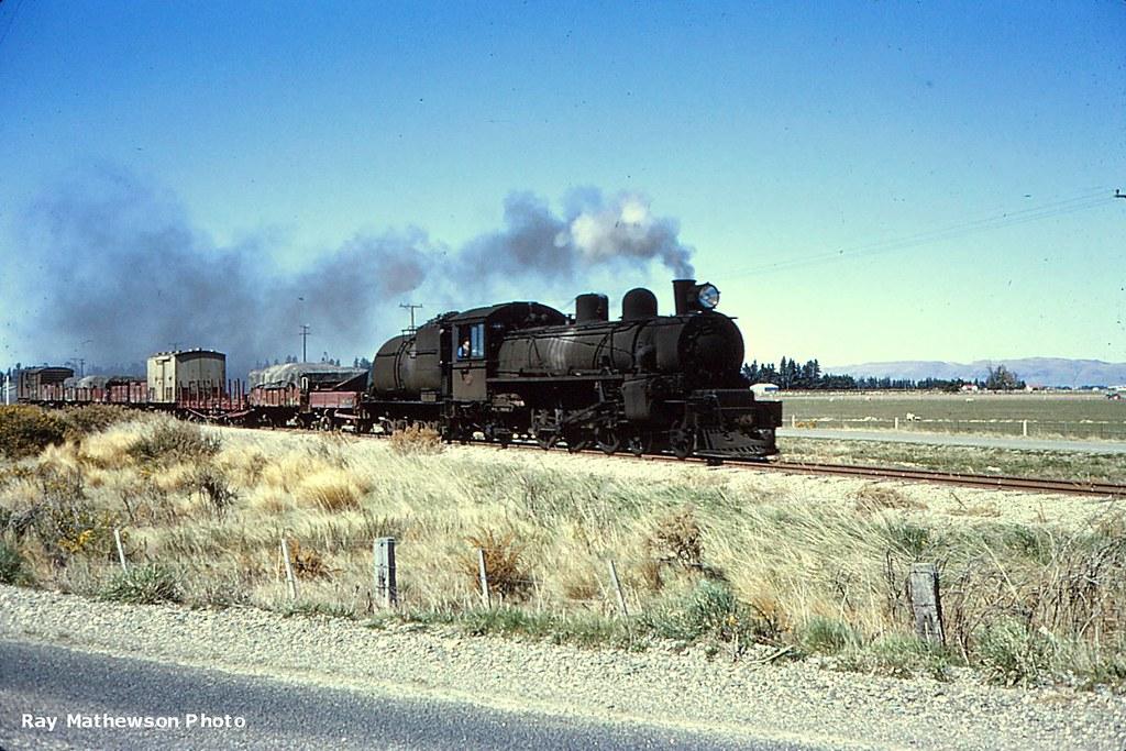 Waimea Plains line late 1960s