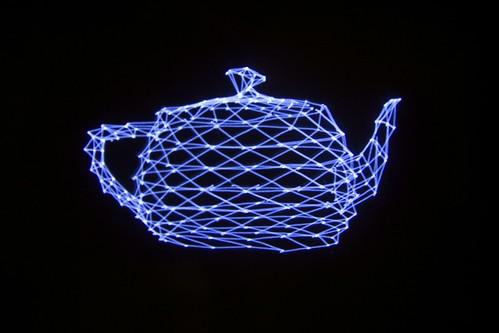 Vectrex teapot