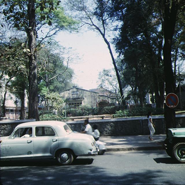 SAIGON 1967 - Công viên Chi Lăng đường Tự Do
