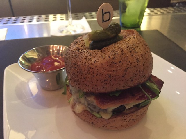 The Frenchie burger - DB Brasserie