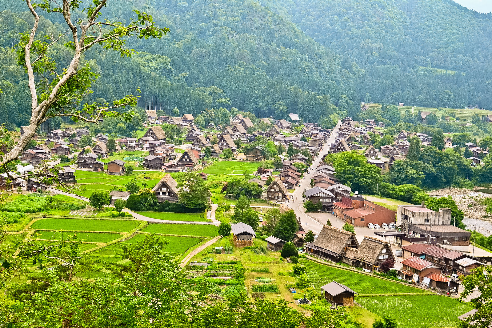 Shiroyama Viewpoint, Shirakawa-gō