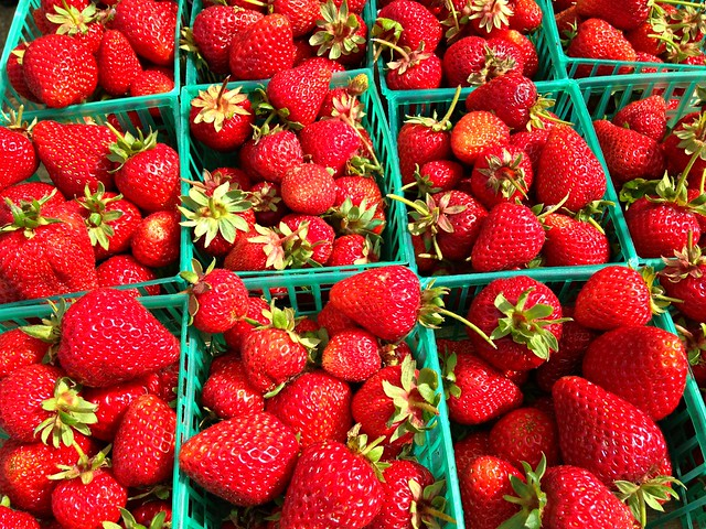 Strawberries - These are a few of my favorite things
