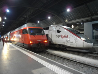 Chur to Zurich train